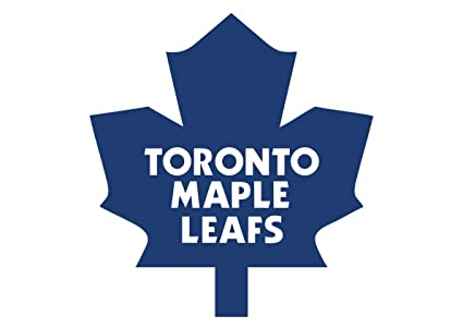 Toronto maple leafs nhl logo wall decals stickers 2 stickers of 15cm