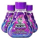 Kangaroo's Super Cool Unicorn Poop Slime, 3 Pack