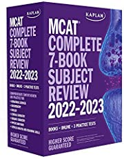 MCAT Complete 7-Book Subject Review 2022–2023: Books + Online + 3 Practice Tests