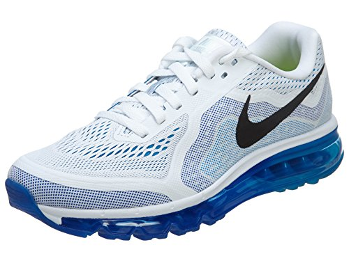 Nike Men's Air Max 2014, WHITEBLACK PHOTO BLUE HYPR CBLT, 9