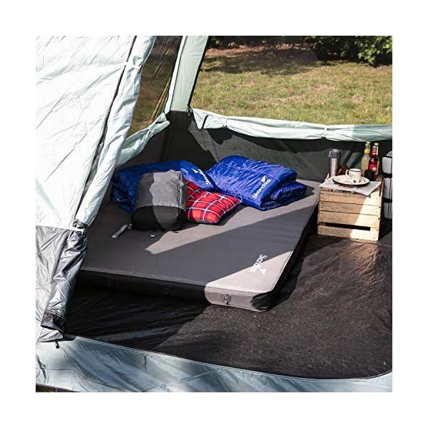Skandika Pitea SUV Tent 4 Person Man, Vehicle Car Mini-Van Awning Extension, Freestanding 300x300cm in size with 220cm…