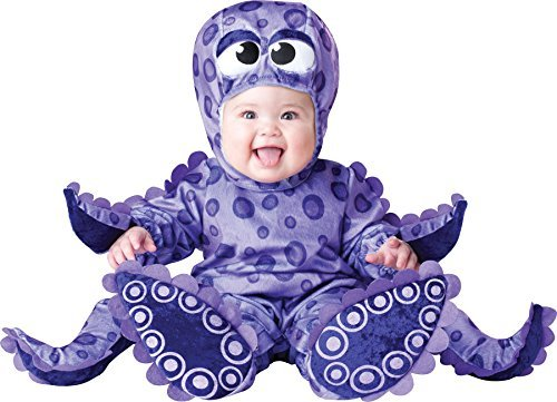 UHC Baby's Tiny Tentacles Octopus Outfit Infant Toddler Halloween Costume, 6-12M -