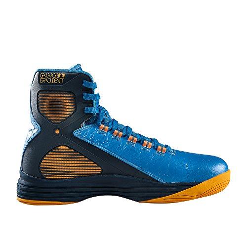 Peak Mens Galaxy Iv Hoge Top Basketbalschoenen Azuurblauwe Blauw