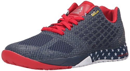 Price comparison product image Reebok Women's R Crossfit Nano 5.0 Training Shoe,  Americana / Collegiate Navy / Excellent Red / White / Pewter,  7.5 M US