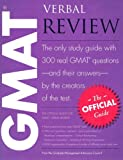 Gmat Verbal Review : The Official Guide, Gmat and Council, Graduate Management Admission, 0976570912