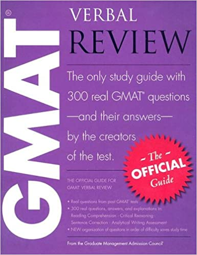 best book for gmat verbal