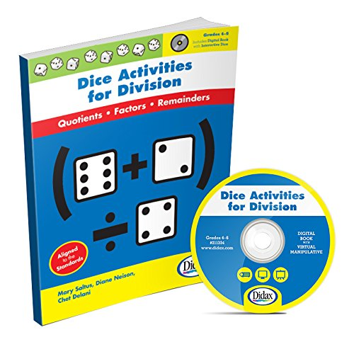 Didax Educational Resources Dice Activities for Division