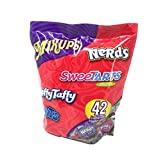 Mixups - 42 Assorted Candies - Nerds, Sweet Tarts, Laffy Taffy and Runts - 410 Grams