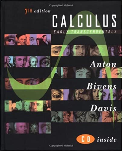 Calculus Early Transcendentals Howard Anton Irl Bivens