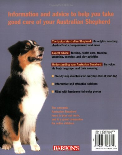 Australian Shepherds (Complete Pet Owner's Manual) 2