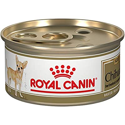 Royal Canin Breed Health Nutrition Chihuahua Adult Loaf in Sauce Canned Dog Food, 3 oz (Pack of 24)