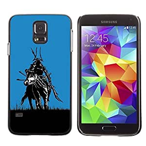 GagaDesign Phone Accessories: Hard Case Cover for Samsung Galaxy S5 - Samurai In Fields