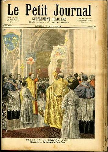 Livre LE PETIT JOURNAL - supplément illustré numéro 181 - FETES POUR JEANNE D'ARC - epub, pdf
