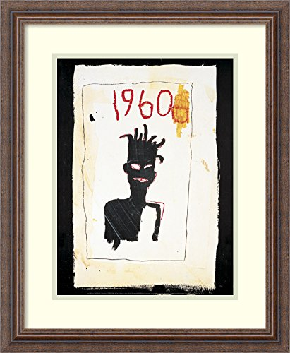 Framed Wall Art Print | Home Wall Decor Art Prints | Untitled (1960), 1983 by Jean-Michel Basquiat | Country Rustic Decor