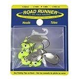 Blakemore TTI Fishing Co Road Runner Bulk Head Hook (Chartreuse, 1/16-Ounce)