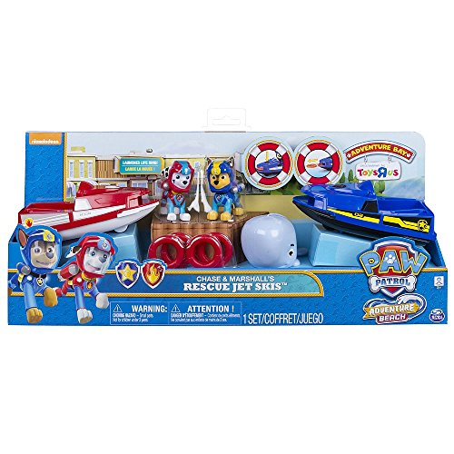 Paw Patrol Adventure Beach Chase and Marshalls Rescue Jet (Rescue Jet)