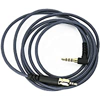 NewFantasia Replacement Audio Cable for Sennheiser GAME ONE / Sennheiser GAME ZERO / Sennheiser PC373D / Sennheiser GSP350 Gaming Headsets 1.3m/4.3ft