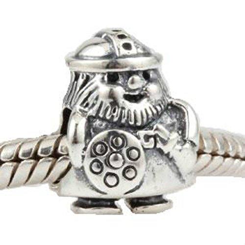 Pirate Shield Charm argent sterling 925pour bracelet Pandora Charms