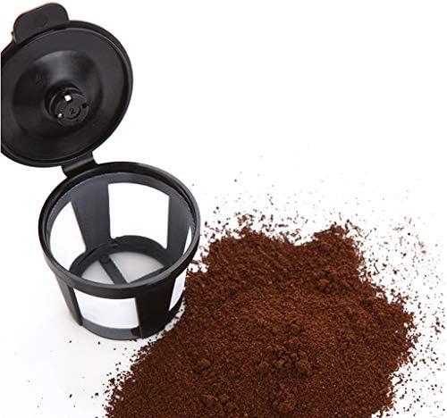 KUANDARMX Durable Machine à café, Machine à café Filtre, 1420W, Conception Anti-Goutte, Filtre Amovible, Garder au Chaud, 1,3 L - Noir Cadeau