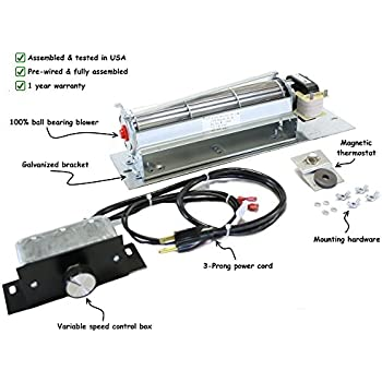 Amazon.com: FK24 Fireplace Blower Kit for Majestic - Vermont ... on majestic fireplace parts, house diagram, chimney parts diagram, majestic fireplace blower, heart diagram, majestic fireplace design,