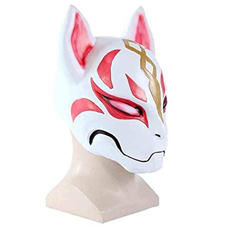 UFFD Fortnite Fox Mask Cospaly Halloween Máscara De Miedo Dress Up Baile Misterioso Máscara (Rosa): Amazon.es: Hogar