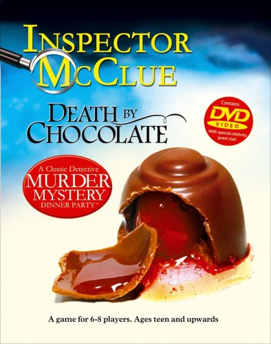 Paul Lamond Games A Classic Detective Murder Mystery Dinner Party with DVD Death by Chocolate -