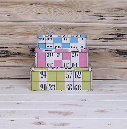 Really Good Bingo Range - Nest Of Storage Tins - (NEW RANGE) by Bingo by Bingo