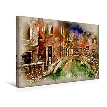 Keilrahmenbild auf Leinwand traumhaftes Venedig