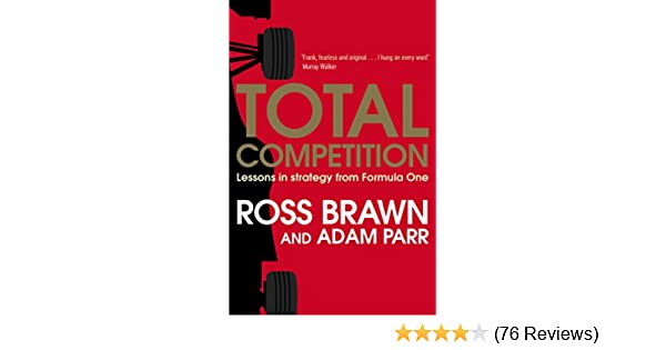 Total Competition Lessons in Strategy from Formula One