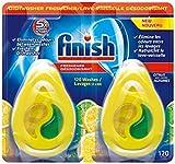 Mega Value Finish Dishwasher Freshener, 220 washes, Citrus Lemon Lime Scent, Pack of 4, 0.17 fl oz / 5ml