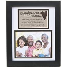 The Grandparent Gift Frame Wall Decor, Grandparent's Heart