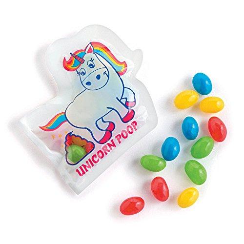 Unicorn Poop Jelly Beans - 24 Fun Size Packs