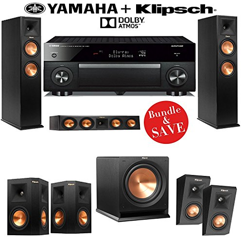 klipsch rp 260f reference premiere 5 1 2 dolby atmos home. Black Bedroom Furniture Sets. Home Design Ideas