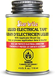 Star brite 084104PC Liquid Electrical Tape Black 4 oz