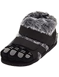 Comfy Feet Gray Wildcats Feet Slippers for Women and Men