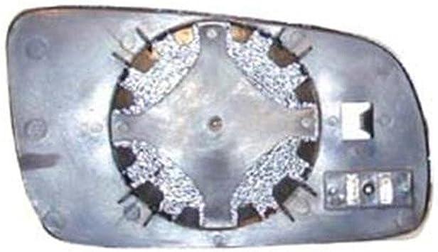 LEFT PASSENGER SIDE VW BORA 1999-2005 MIRROR GLASS WITH BACK PLATE