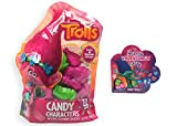 Trolls Valentines Day Classroom Exchange 22 Plastic Characters with Candy and Gift