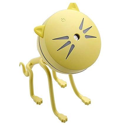 Cute Cat Shaped Humidifier Creative Mini USB Pettie Humidifier for Home  Office (E)