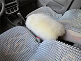 Forala Auto Center Console Pad Furry Sheepskin Wool Car Armrest Seat Box Cover Protector Universal Fit