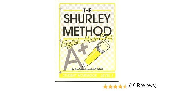 The Shurley Method: English Made Easy : Level 1: Brenda Shurley ...