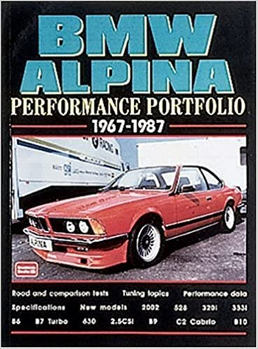 BMW Alpina 1967-87 Performance Portfolio: R.M. Clarke: 9781855204911: Amazon.com: Books