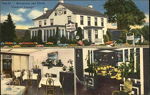 (Inn 22, Restaurant and Ebony Cocktail Lounge Harrisburg, Pennsylvania Original Vintage Postcard)