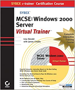 MCSE Windows 2000 Server e-Trainer (Sybex E-trainer)