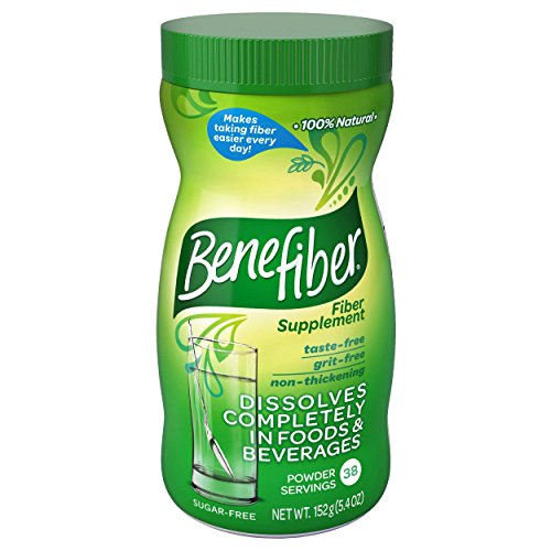 Benefiber SF Powder Diet Supplements, 152 Gram