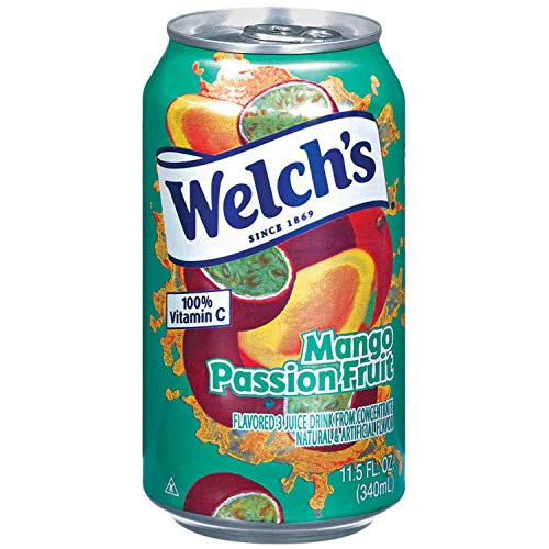 Welch's Mango/Passion Fruit Drink, 11.5 oz - Pk of ()