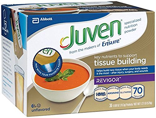 Medline Juven Powder Nutritional Supplement (Unflavored, Packaging : 30EachCarton) by Juven (Image #1)