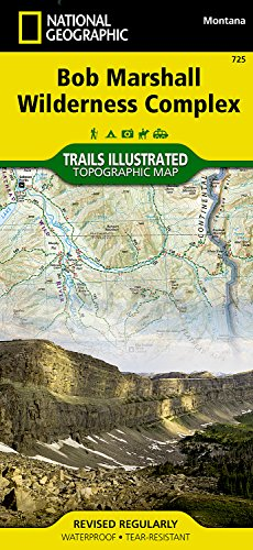 (Bob Marshall Wilderness (National Geographic Trails Illustrated Map))