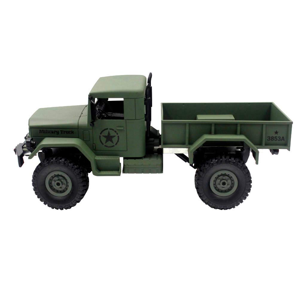 Choosebuy 1:16 Military Off-Road Remote Control Truck, Cool 6WD Powerful Engine Bright Spotlights RC Tracked Cars Toys with 2.4GHz Technology for Indoors/Outdoors (Army Green) by Choosebuy (Image #3)