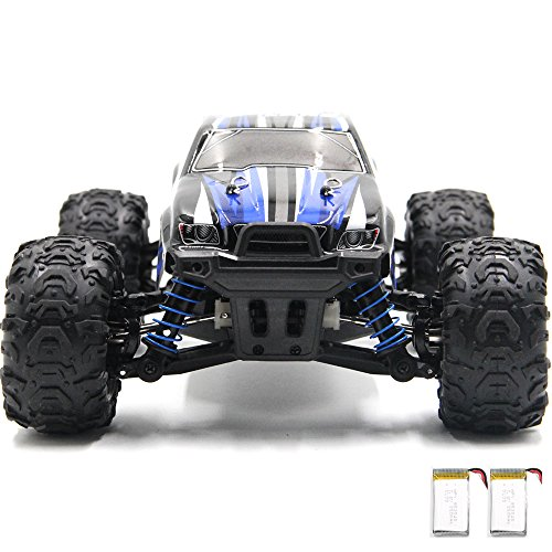 COSAY Rc Car, For 9300 Remote Control Cars,1/18 Scale 40km/h,2.4Ghz 4WD High Speed off-road Vehicles With 2 Rechargeable Batteries, Give the Child the Best Gift