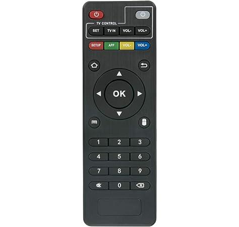 VOOYE Mando a distancia universal de repuesto para Android Smart TV Box MXQ Pro 4 K X96 T95 M T95 N M8S: Amazon.es: Hogar